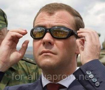 очки, солнцезащитные очки, Panthère de Cartier, Дмитрий Медведев, Элтон Джон
