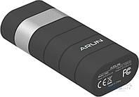 Портативное зарядное устройство Arun Y302 5000 mAh Black