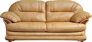 Кожаный диван, не раскладной диван, мягкий диван, мебель из кожи, диван, фото 2