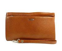 60a367d950b6 Клатч мужской кожаный классика clutch светло-коричневый Desisan 1460-15  Турция