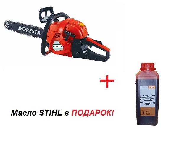 Бензопила Foresta FA-58N 50 см/2,6 кВт + масло