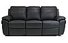 """Трехместный диван в коже с реклайнером """"PHILADELPHIA"""" (202см), фото 2"""