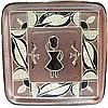 Блюдо квадратное Триполье (28*28см)