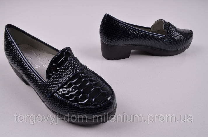 Туфли для девочки Леопард X363-2 Размер:32,34,35,36, фото 2