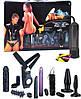 Набор для любовных игр Black Warrior Kit Set: 14pcs