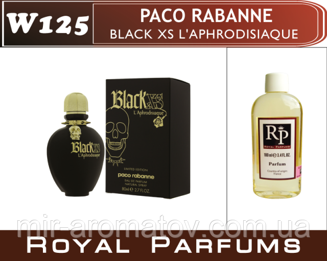 Женские духи на разлив Royal Parfums Paco Rabanne black xs l'aphrodisiaque.   №125  30