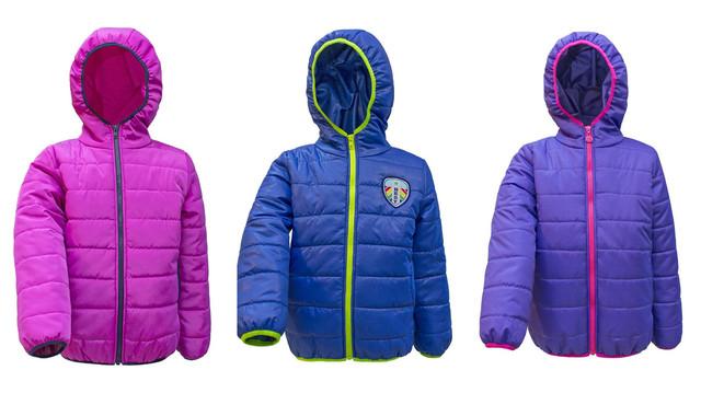 Детские демисезонные куртки 110-140 см