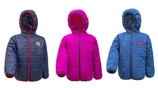 Детские демисезонные куртки 98-116 см