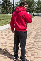 Спортивный костюм freever муж. красн. утеп.байка трик.