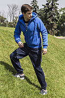 Спортивный костюм freever муж. голубой утеп.байка трик