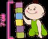 детский матрас Latex Comfort / Латекс Комфорт 60х120 ЕММ h7 Herbalis Kids латекс + кокос беспружинный , фото 5