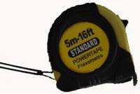 Рулетка резиновая 5 метровая Standard