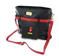 """Комплект из сумки и кошелька """"3 цвета в 1"""""""