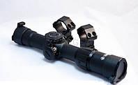 Прицел Kandar 1-4x24 IRF D30(465г,24см) сетка перекрест. с рис перв. фокал. плоск., кольца выс.ласта