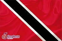 Флаг Тринидад и Тобаго 80*120 см., искуственный шелк