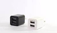 Адаптер 2100, адаптер 220v USB 2100mA 2 порта, универсальное зарядное устройство, адаптер переходник