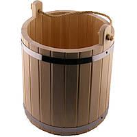 Ведро деревянное 12 л (липа)