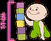 детский матрас Latex Lux / Латекс Люкс 60х120 ЕММ h11 Herbalis Kids латекс беспружинный , фото 5