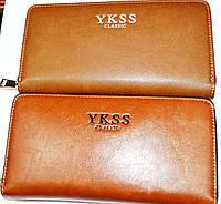 Большой кошелек на молнии. Купюрник YKSS CLASSIC. Хорошее качество. Купить онлайн. Код: КДН540, фото 1