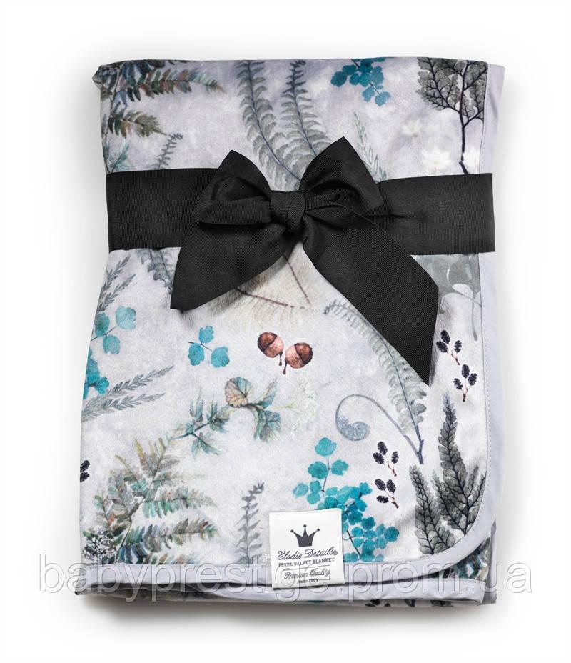Elodie Details - детский плед - Forest Flora, флисовый