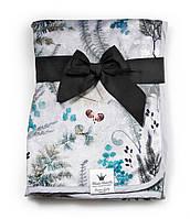 Elodie Details - детский плед - Forest Flora, флисовый.