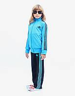 Детский спортивный костюм с цветной кофтой