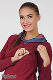 Платье для беременных и кормления Lein DR-36.132 бордовый меланж, размер 44, фото 3