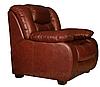 Стильное кожаное кресло Манхеттен (100 см), фото 3
