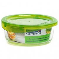 Емкость для пищи Luminarc Keep'n'box круглая с крышкой, 670 мл