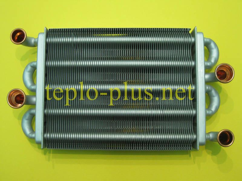 Теплообменник битермический 39841310, 39837660 Ferroli Domiproject D, FerEasy D, Domicondens, Domina N, фото 2