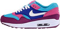 Женские кроссовки Nike Air Max 87 (найк аир макс 87) фиолетовые