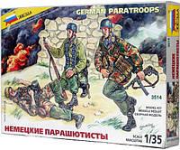 Сборная модель Zvezda (1:35) Немецкие парашютисты