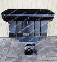Защита двигателя Киа Спортейдж 3 (вместо пыльника, стальная защита поддона картера  Kia Sportage 3)