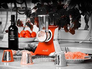 Кухонный комбайн-овощерезка красного цвета Hilton КМ 3071