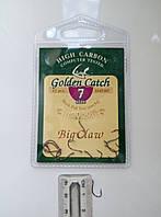Крючки для рыбалки Golden Catch Big Claw №7