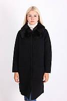 Классическое пальто черного цвета