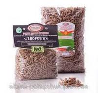 Макароны из муки цельного молотого зерна с ржаными отрубями №2