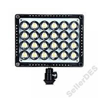 Накамерный  свет, видеосвет LED 160 2300Lm!!!