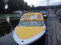 Тент ходовой на катер Maxum 1800 MX. Акрил Sattler (швейцария).