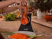 Кухонный комбайн - овощерезка черный Hilton KM 3072, фото 3