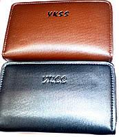 Купюрник на 2 змейки YKSS. Отличное качество. Мужской кошелек. Купить в интернете портмоне. Код: КДН542, фото 1