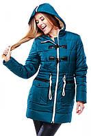 Теплая курточка оригинального дизайна