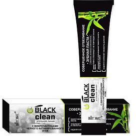 Зубная паста чёрная Black clean 85 г