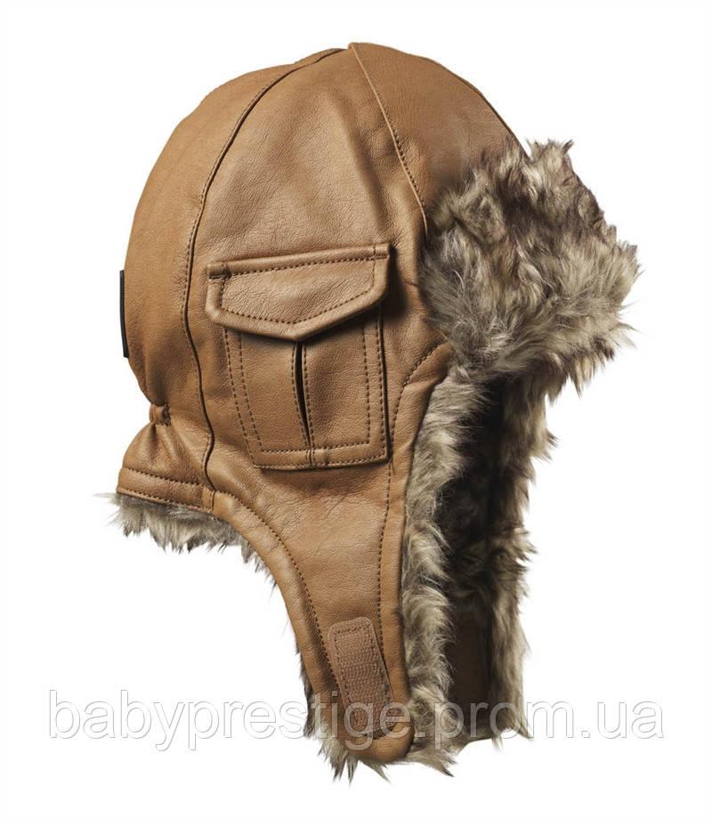 Зимняя шапка Elodie details - Chestnut Leather, 1-2 года