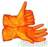 Перчатки резиновые M