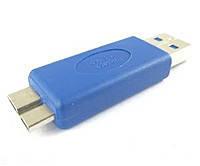 Переходник штекер USB A - штекер micro USB тип B, v.3.0