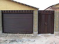 Въездные рулонные ворота