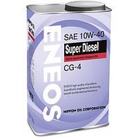 Масло моторное Eneos Super Diesel API CG-4 10W40 ✔  1л.