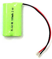 Аккумулятор AA Ni-Cd 1000 mAh 2.4V
