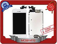 Модуль LCD + Touchscreen Apple iPhone 5 белый